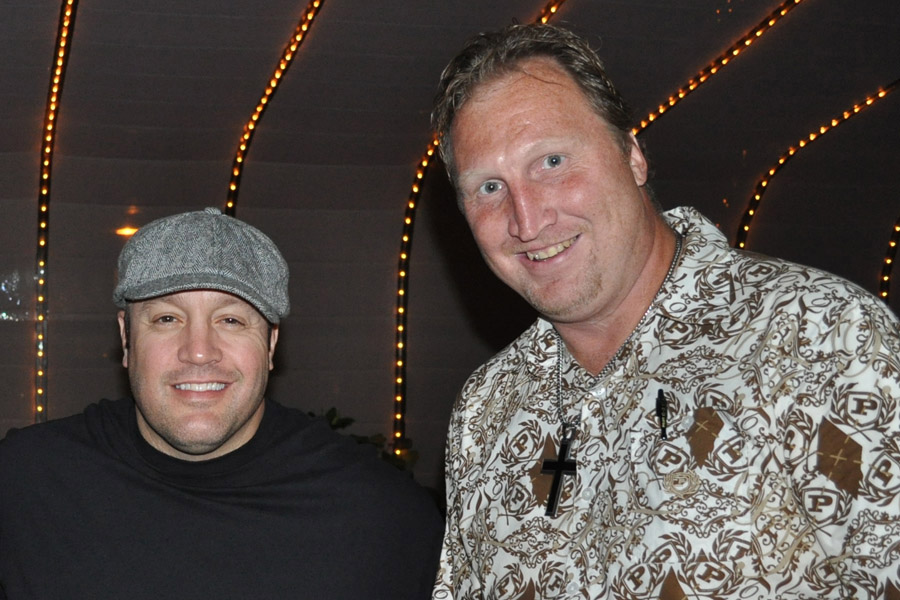 With Comedian/Actor Kevin James